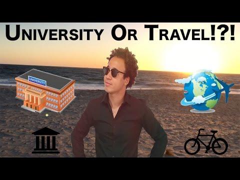 SHOULD I GO UNIVERSITY OR TRAVEL?!?! VLOG