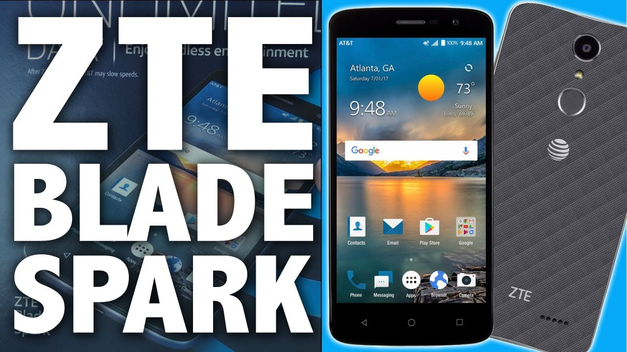 ZTE Blade Spark Z971 Review & How to Unlock an AT&T GoPhone ZTE ROBB