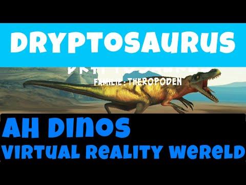 Albert Heijn Dryptosaurus Dino Virtual Reality video zonder bril, Freek Vonk