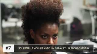 Coiffure Iroquoise Crete Cheveux Afros Boucles