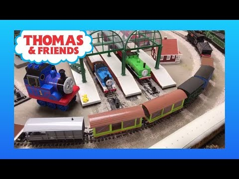🔴 HO Scale Thomas Trains Running Session