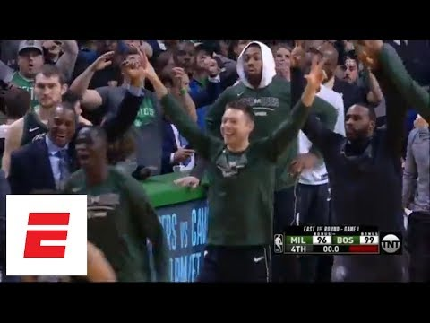 Terry Rozier III and Khris Middleton sink miracle 3-pointers in Game 1 of NBA Playoffs | ESPN