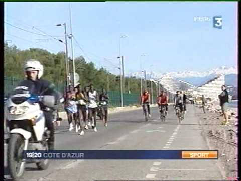 Marathon Nice-Cannes 2008 - 19/20 France 3 Sports