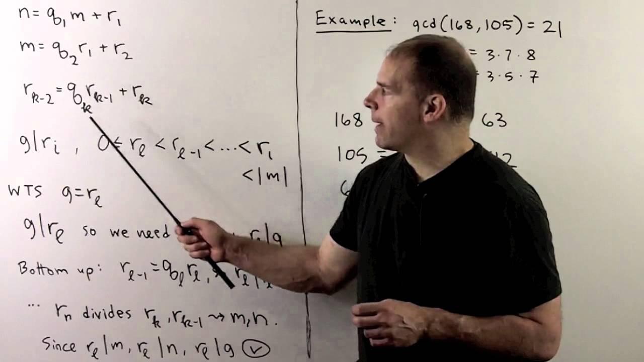 BM10 1  The Euclidean Algorithm for the Integers