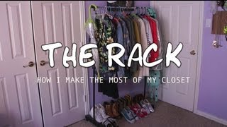 "Decor ☆ Closet Organization: ""the Rack"""