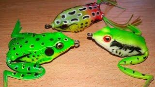 Обзор лягушек из Китая для ловли щуки в заросших местах. Lure on a pike(В этом видео проведу небольшой обзор китайских лягушек для ловли щуки в очень заросших местах. ***********************..., 2017-03-05T10:19:54.000Z)