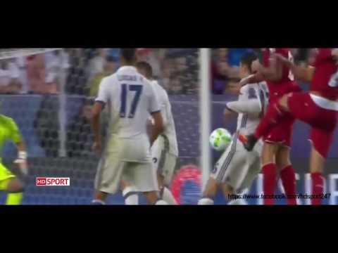 Real Madrid vs Sevilla UEFA Super CUP 2016/2017