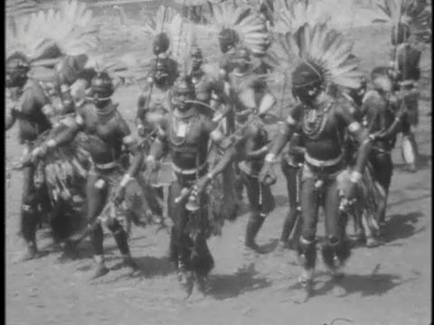 1930's Home Movie of African Tribal Dances