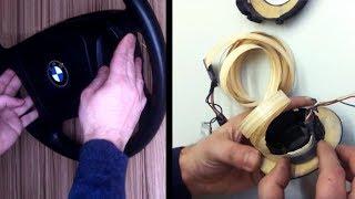 Замена шлейфа магнитолы BMW е-39 без паяльника.