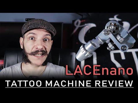LACEnano Magnetic Rotary Tatttoo Machine ( RECENSIONE )