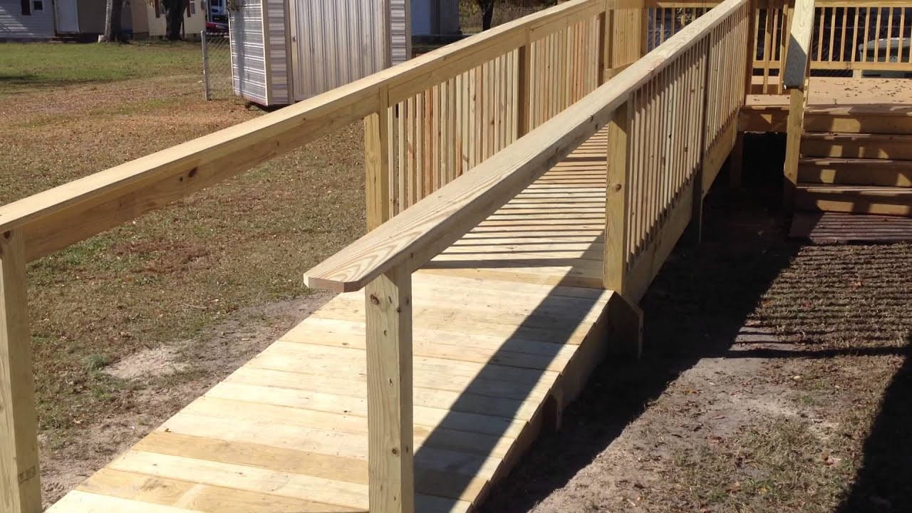 Class 2013 2014 Ramp And Deck Construction Youtube