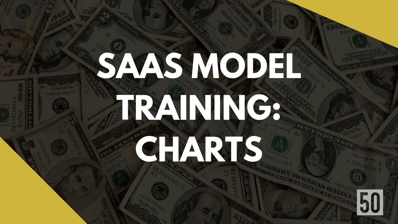 charts for saas fundraising excel template youtube