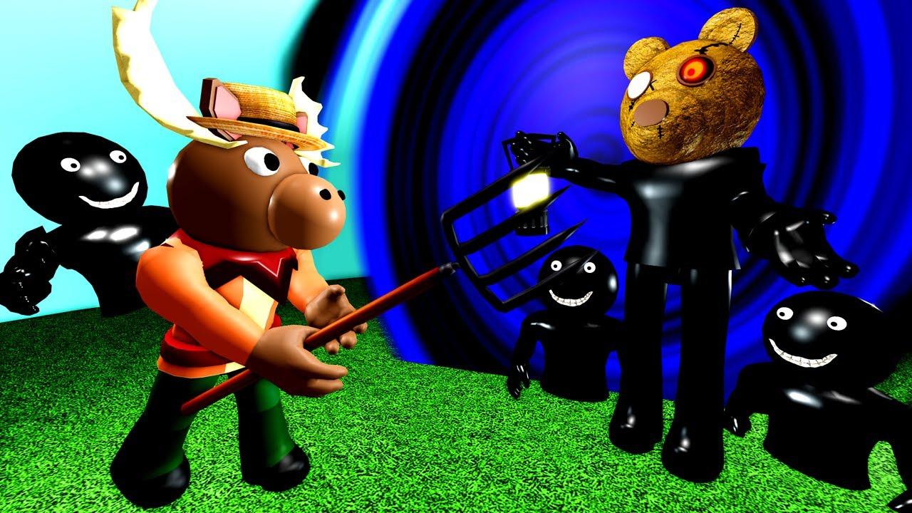 ROBLOX PIGGY BOOK 2 - MARKUS vs MR STITCHY! Marcus Origin Story Roblox Animation