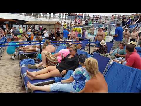 Carnival Freedom Apr 17 Hairy Chest Contest