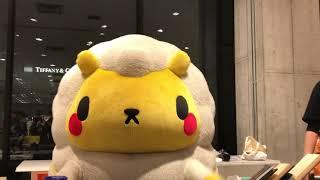 ジンくん銀座ラストのじゃんけん大会なの〜|ω・)3ノ   @銀座ロフト1/6