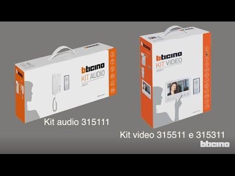 Schema Collegamento Bticino 5860 : Bticino : come installare un kit monofamigliare 4 fili con
