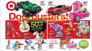 Target Black Friday AD & Awesome Doorbusters 2018