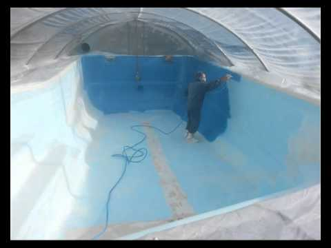 Riparazione piscina youtube - Riparazione telo piscina ...