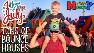 Giant Carnival Party!! We Got a Fidget Spinner!  || Mommy Monday