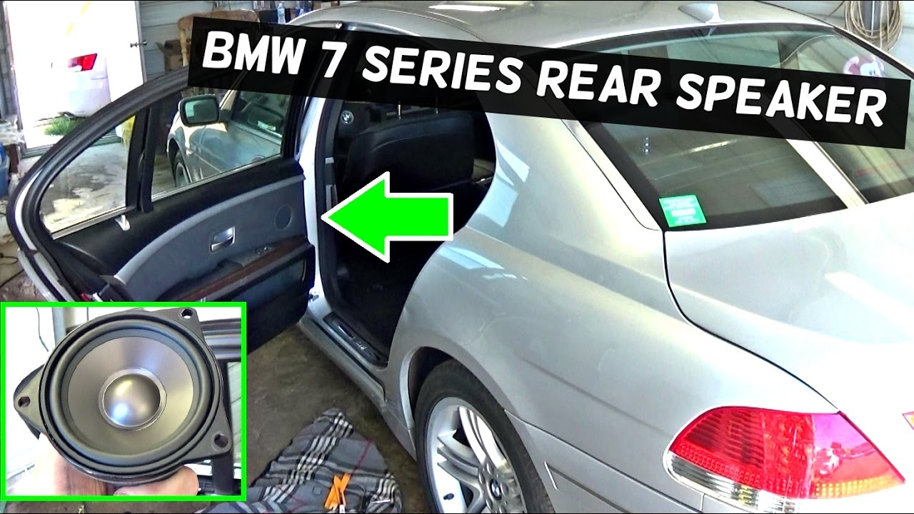 bmw e65 r66 rear door speaker replacement 745i 745li 750i 750li 760li 735i 740d 735d youtube. Black Bedroom Furniture Sets. Home Design Ideas