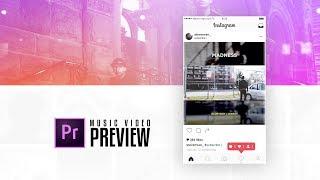 Instagram Music Video Previews: Premiere Pro CC Tutorial (2017)