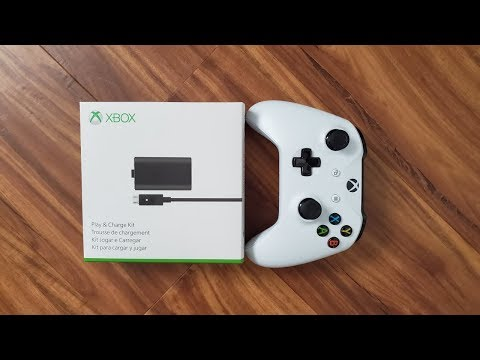xbox-controller-play-&-charge-kit-replacement-battery-|-unboxing-&-installation