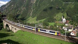 Video Bahnland Schweiz: Gotthardbahn/Ferrovia del Gottardo Nordrampe rund um Wassen Juli 2014 Teil 1 download MP3, 3GP, MP4, WEBM, AVI, FLV Juli 2018