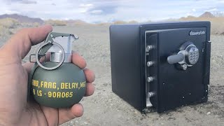 Opening a Safe with a Grenade?