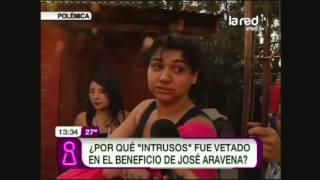 Intrusos vetado en evento a beneficio de José Aravena