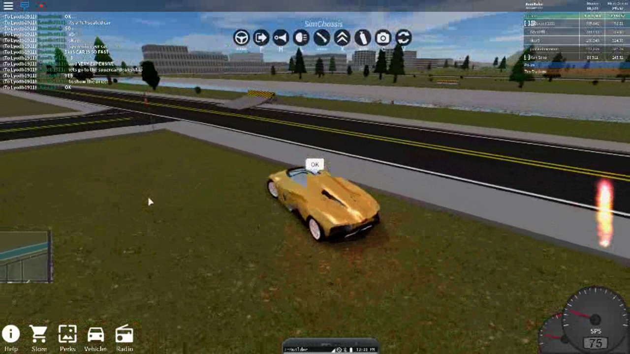 Roblox Vehicle Simulator Lamborghini Egoista Showcase Youtube
