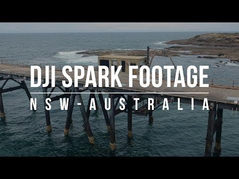 DJI Spark footage (NSW, Australia)