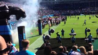 Carolina panthers Introduction 10/20/13 (BCA Month)