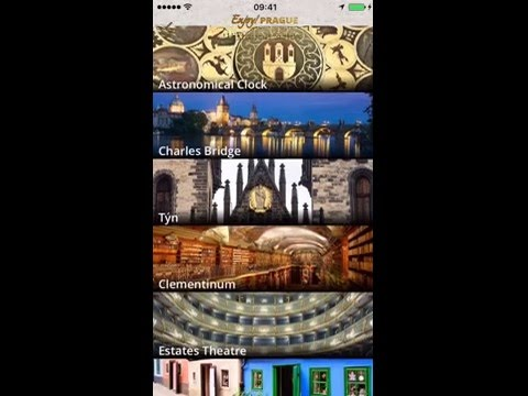 Enjoy! Prague Historical Sights & Tours (With Off-Line Map) iPhone Version