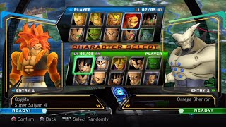 Dragon Ball Z: Ultimate Tenkaichi All Characters [PS3]
