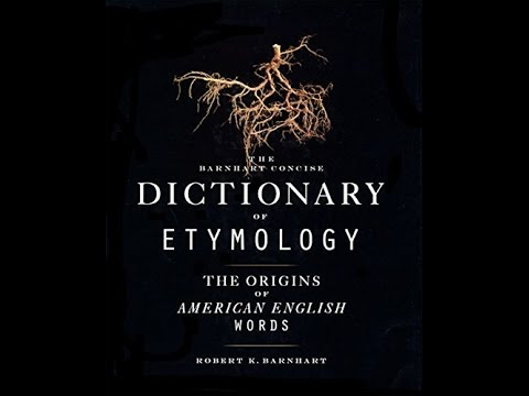 ['PDF'] Barnhart Concise Dictionary of Etymology