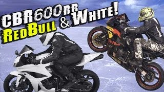Honda Cbr600rr Red Bull To White Fairings Transformation