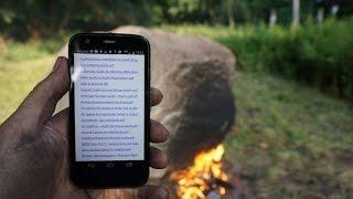 Необычный Wi-Fi камень в немецком лесу | КИТ
