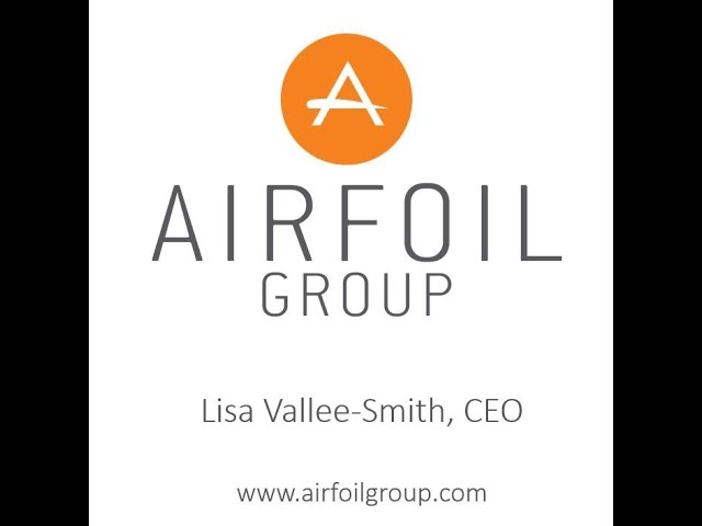 Airfoil Group CEO Lisa Vallee Smith Update