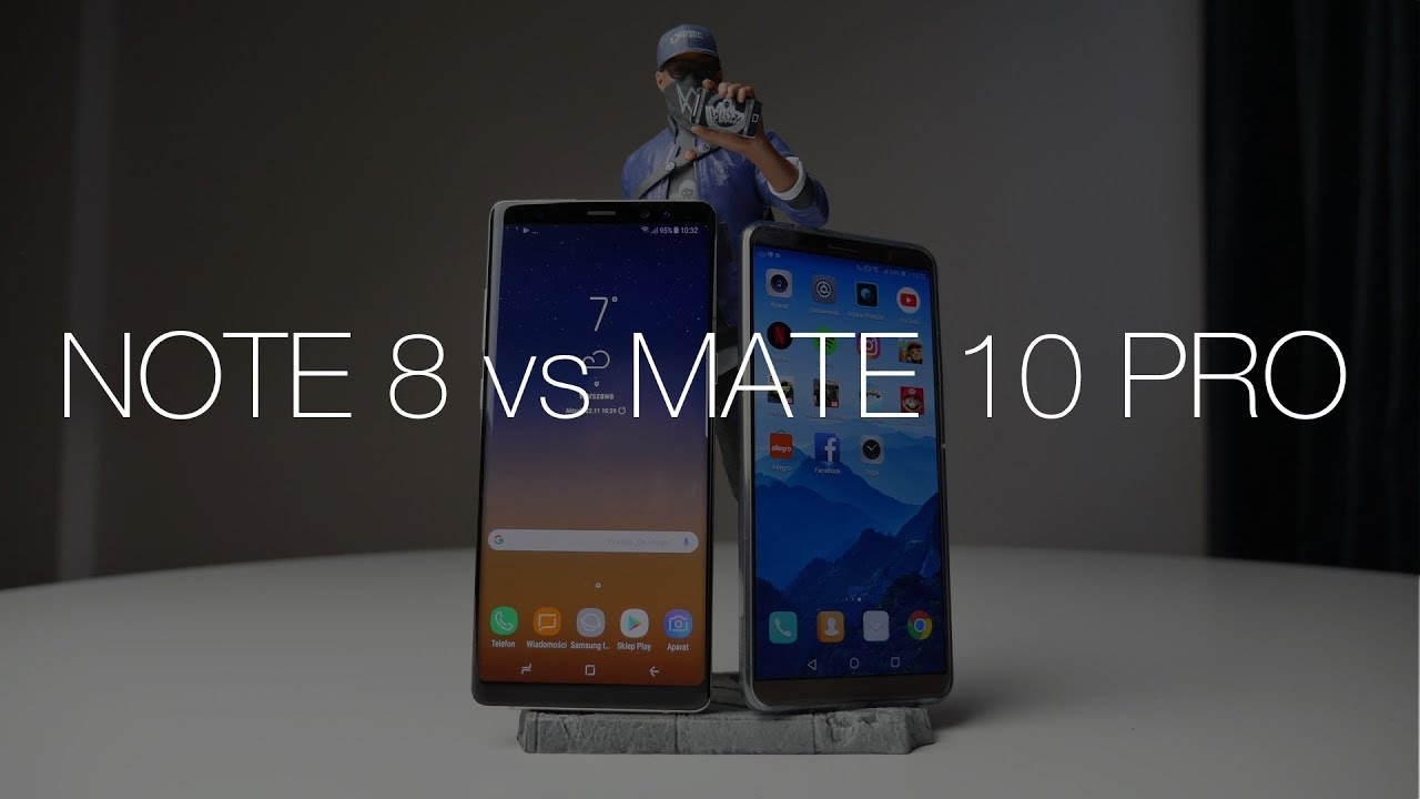 Samsung Galaxy Note 8 vs Huawei Mate 10 Pro – który wydajniejszy (i szybszy)?