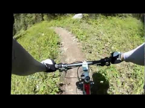 "Mystic Lake Trail, Bozeman MT ""Wall Of Death"""
