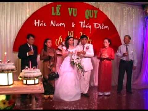 dam cuoi Hai Nam - Thuy Diem (07-10-2007) [phan1/2]