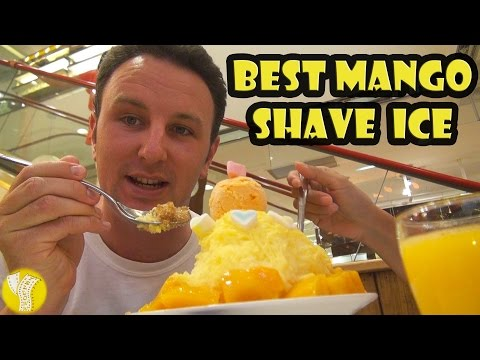 Best Mango Shave Ice in Taiwan