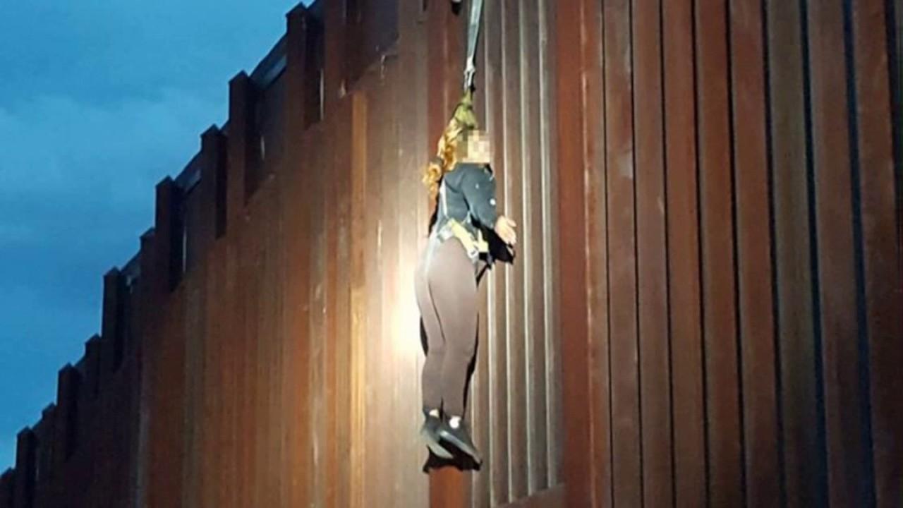 Woman Found Hanging At US / Mexico Border Wall