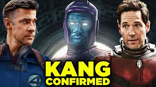 Marvel Next Thanos = KANG! Fantastic Four in Ant-Man 3?
