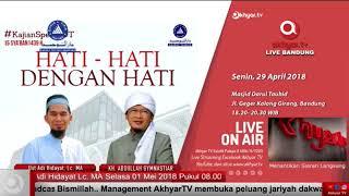 Ustadz Adi Hidayat Lc,MA & K.H.Abdullah Gymnastiar [ HATI-HATI DENGAN HATI ]