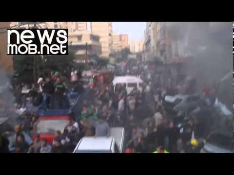Deadly car bomb explosion in Beirut, Lebanon