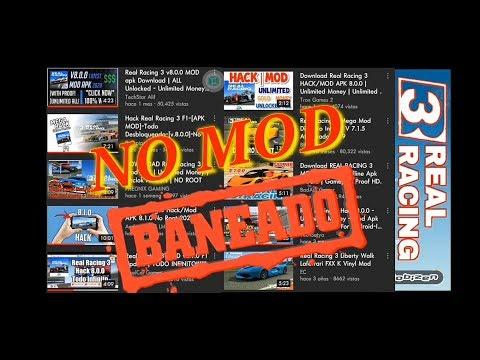 REAL RACING 3 MOD, BANEADO 2