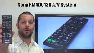 SONY RMADU138 Remote Control PN: 148997311 - www.ReplacementRemotes.com