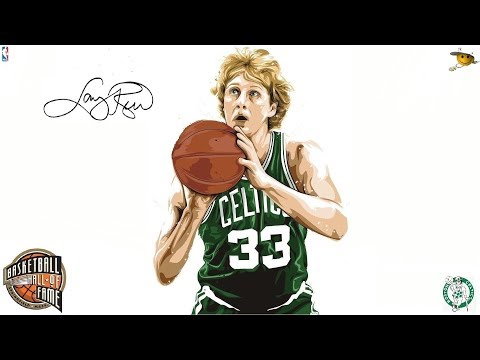 Larry Bird (The Baddest Man Ever to Shoot a Basketball) NBA Legends