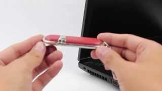 1GB Leather Keyring Flash Drive » HG4927